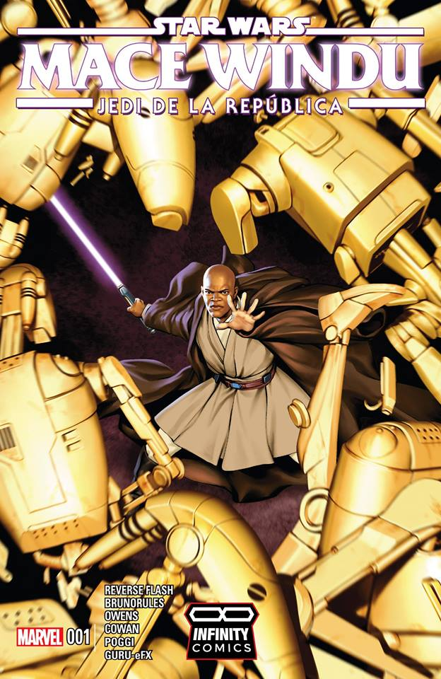 Comic Mace Windu - Jedi Of The Republic