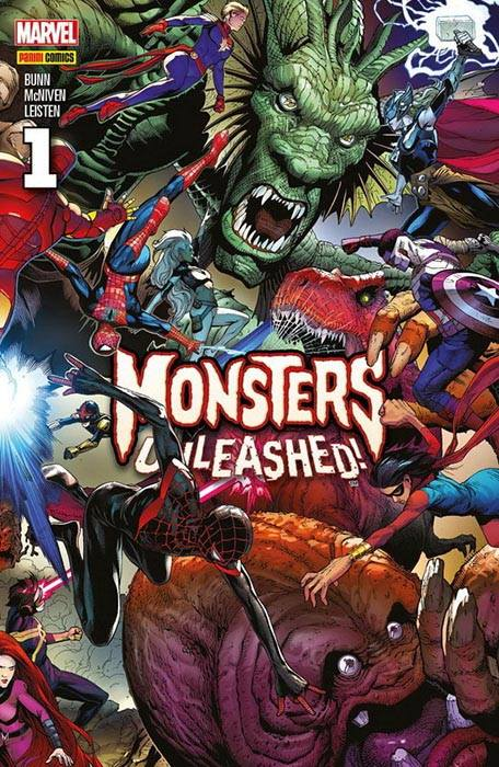 Comic Monsters Unleashed