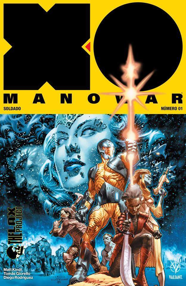 Comic X-O Manowar Vol 4