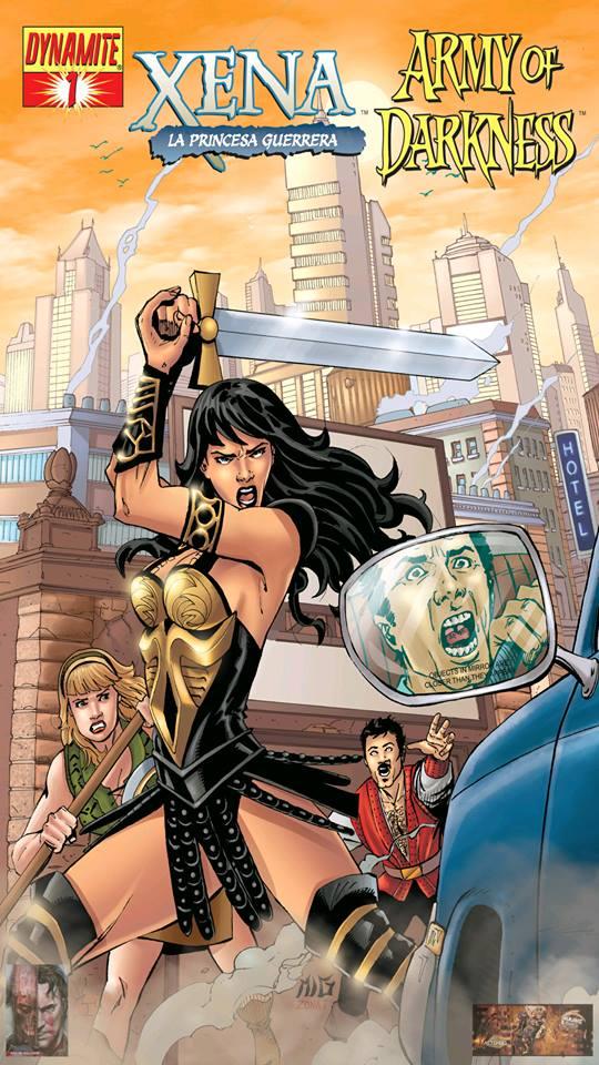 Leer Comic o comics Xena/Army of Darkness: ¿Qué... otra vez?
