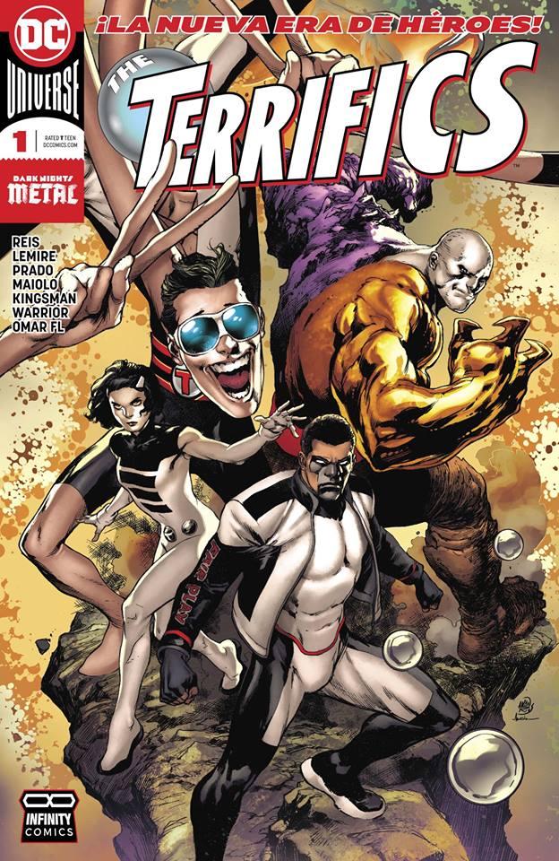 comics en CDR The Terrifics Vol. 1