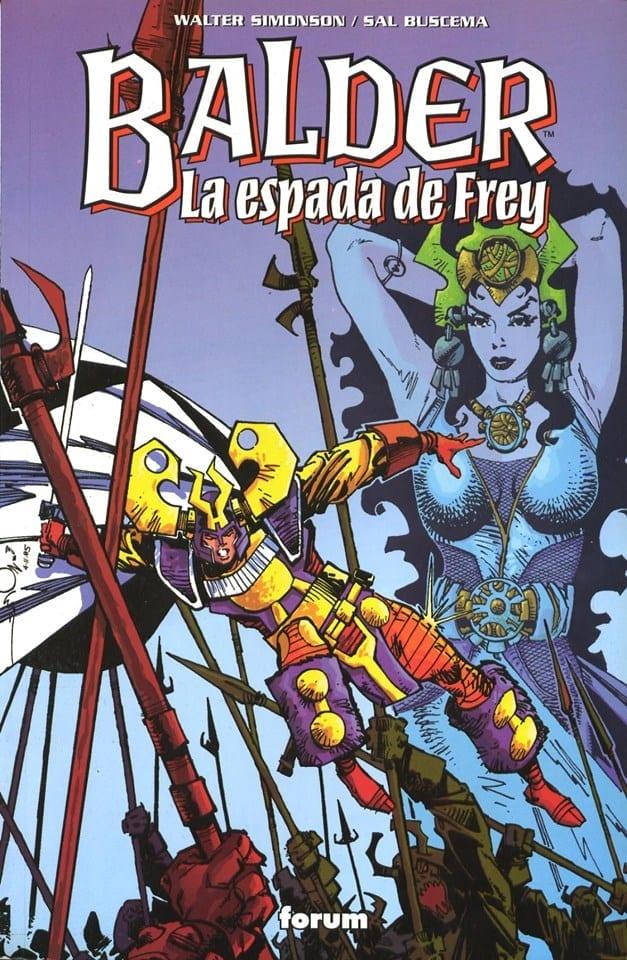 Balder el Bravo: La espada de Frey