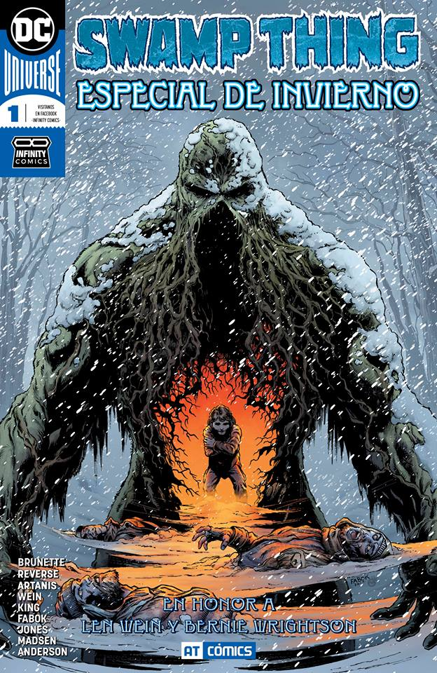 Swamp Thing Winter Special 2018