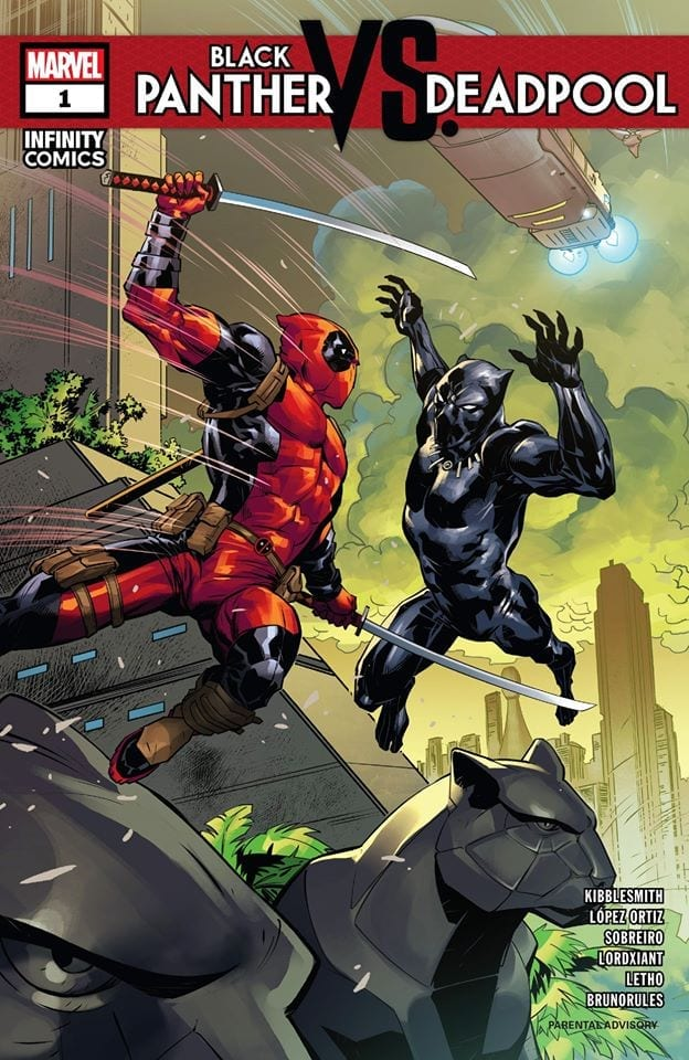 Black Panther Vs. Deadpool Vol. 1