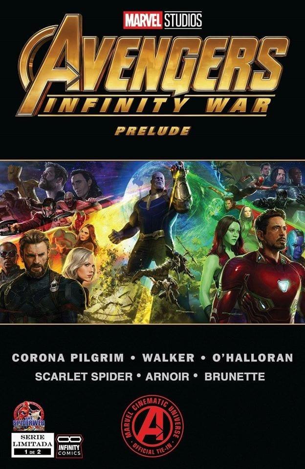 Preludio a Avengers Infinity War