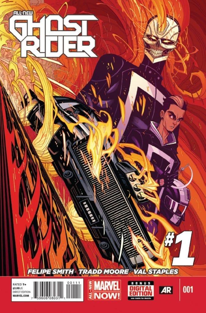 Comic completo All-New Ghost Rider Volumen 1