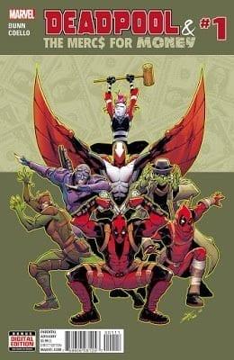 Comic completo Deadpool and The Mercs For Money Volumen 2
