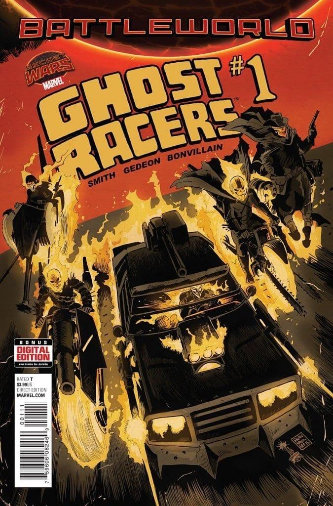 Comic completo Ghost Racers Volumen 1