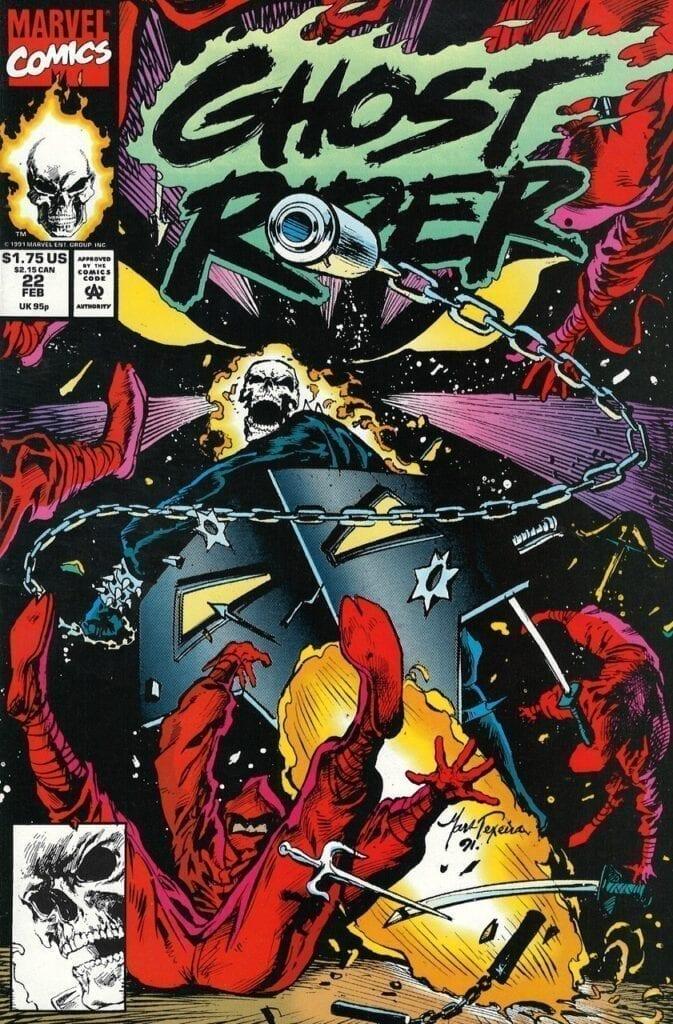 Descargar Ghost Rider Volumen 2 comic