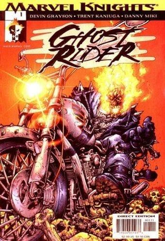 Comic completo Ghost Rider Volumen 4