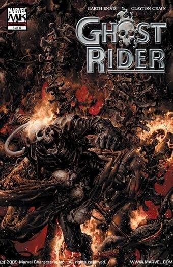 Comic completo Ghost Rider Volumen 5