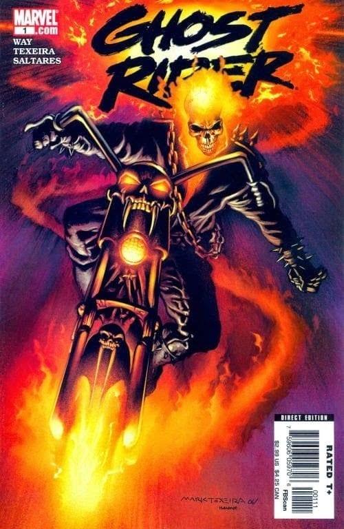Comic completo Ghost Rider Volumen 6
