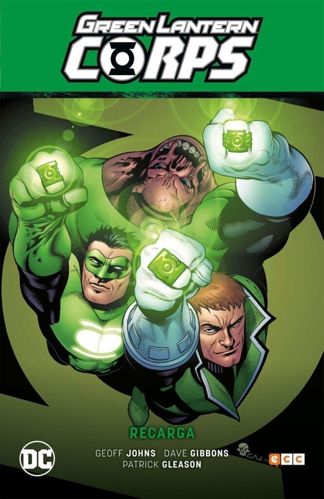 Descargar Green Lantern Corps Recharge comic
