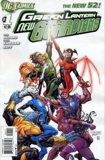 Descargar Green Lantern New Guardians Volumen 1 comic