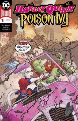 Comic completo Harley Quinn and Poison Ivy Volumen 1