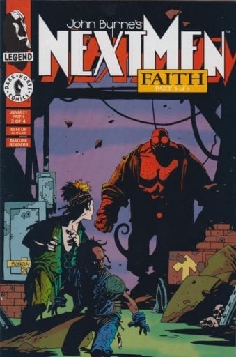 Descargar Hellboy John Byrne's Next Men comic