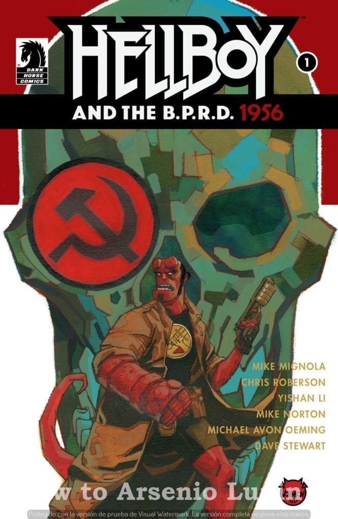 Descargar Hellboy and the B.P.R.D. 1956 comic