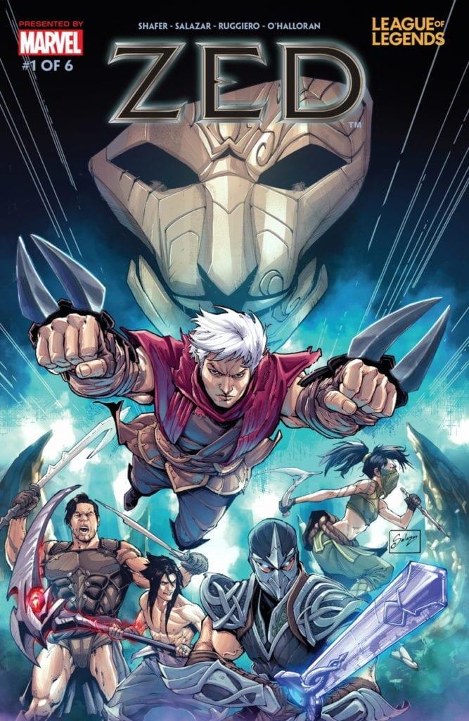 Descargar League of Legends Zed Volumen 1 comic
