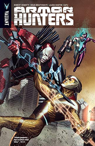 Comic completo Armor Hunters Volumen 1