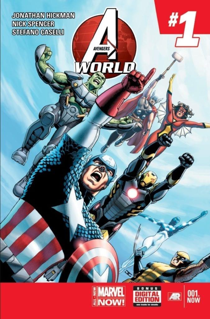 Comic completo Avengers World Volumen 1