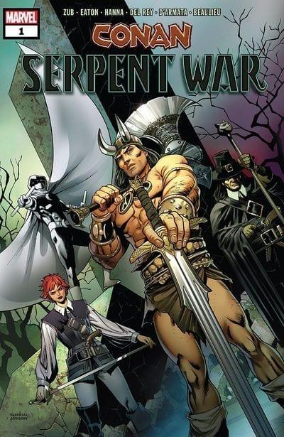 Comic completo Conan Serpent War