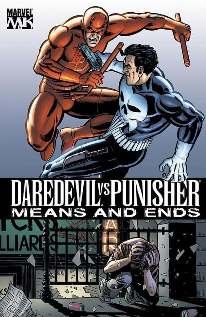 Comic completo Daredevil vs Punisher