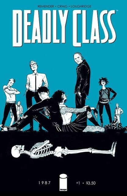 Descargar Deadly Class comic