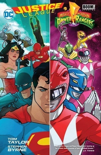 Comic completo Justice League/Power Rangers