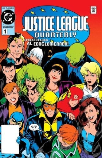 Comic completo Justice League Quaterly