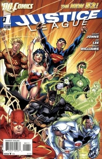 Comic completo Justice League Volumen 2