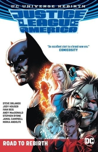 Comic completo Justice League of America: Road to Rebirth