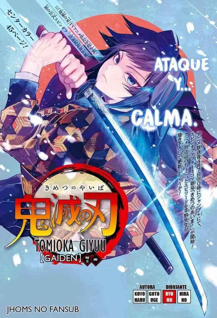 Manga completo Kimetsu no Yaiba Tomioka Giyuu Gaiden