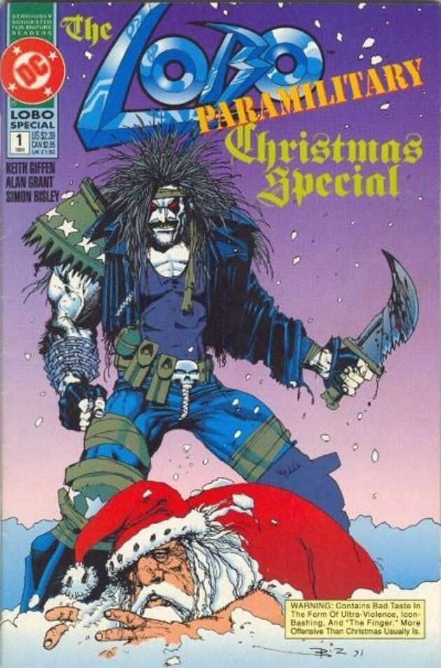 Comic completo Lobo Paramilitary Christmas Special