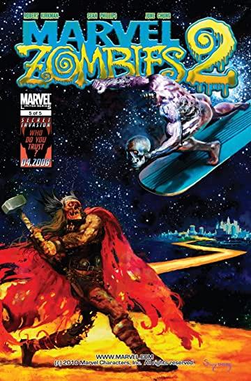 Comic completo Marvel Zombies 2 Volumen 1