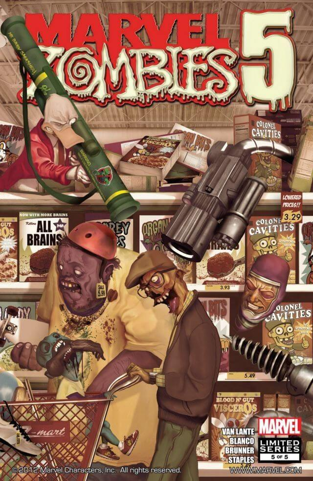 Descargar Marvel Zombies 5 comic