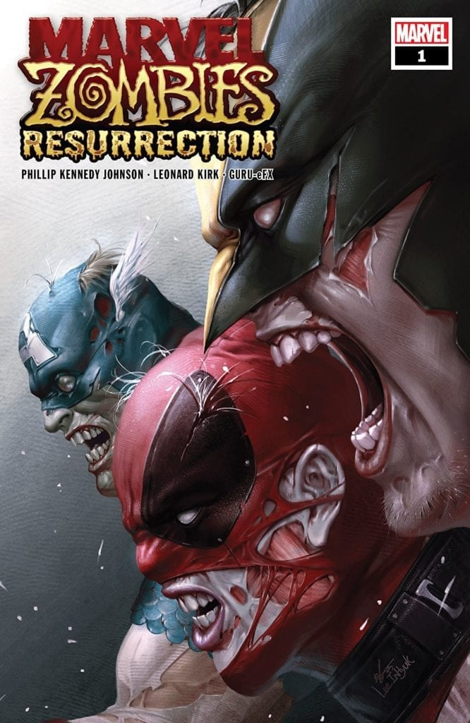 Comic completo Marvel Zombies: Resurrection
