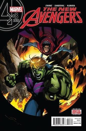 Comic completo New Avengers Volumen 4