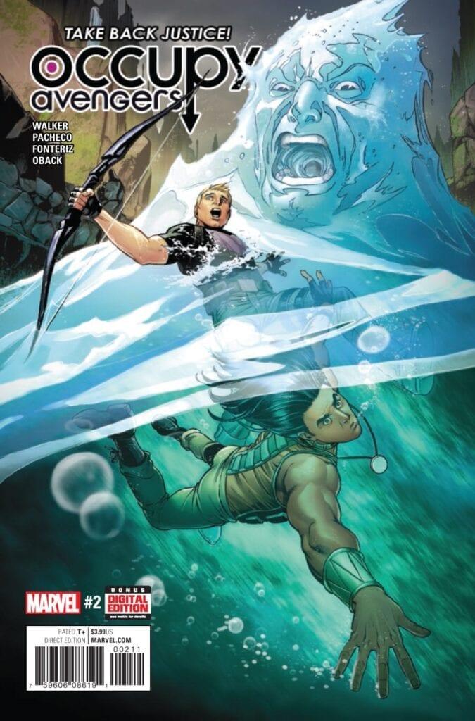 Comic completo Occupy Avengers Volumen 1