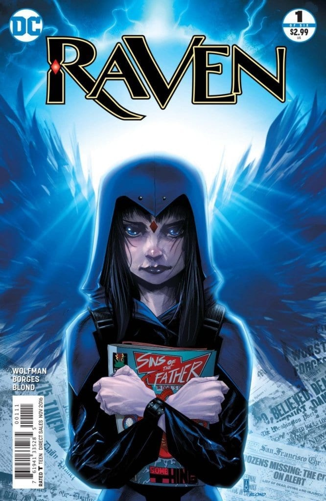 Comic completo Raven Volumen 1