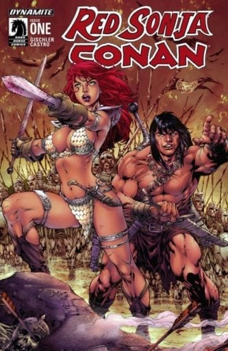Comic completo Red Sonja / Conan: The Blood of a God