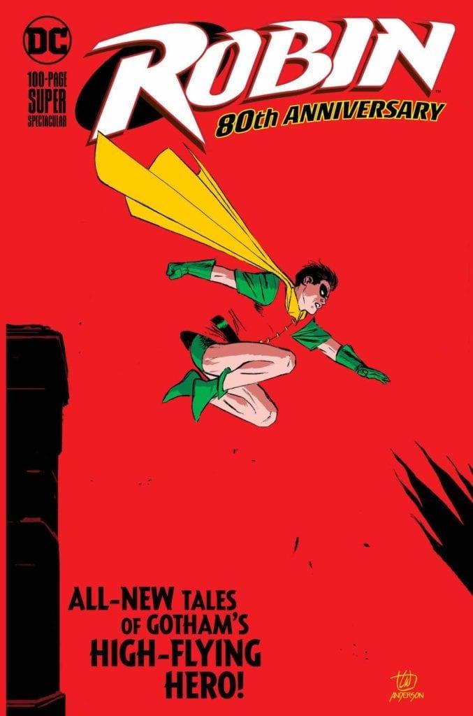 Comic completo Robin 80th Anniversary Special