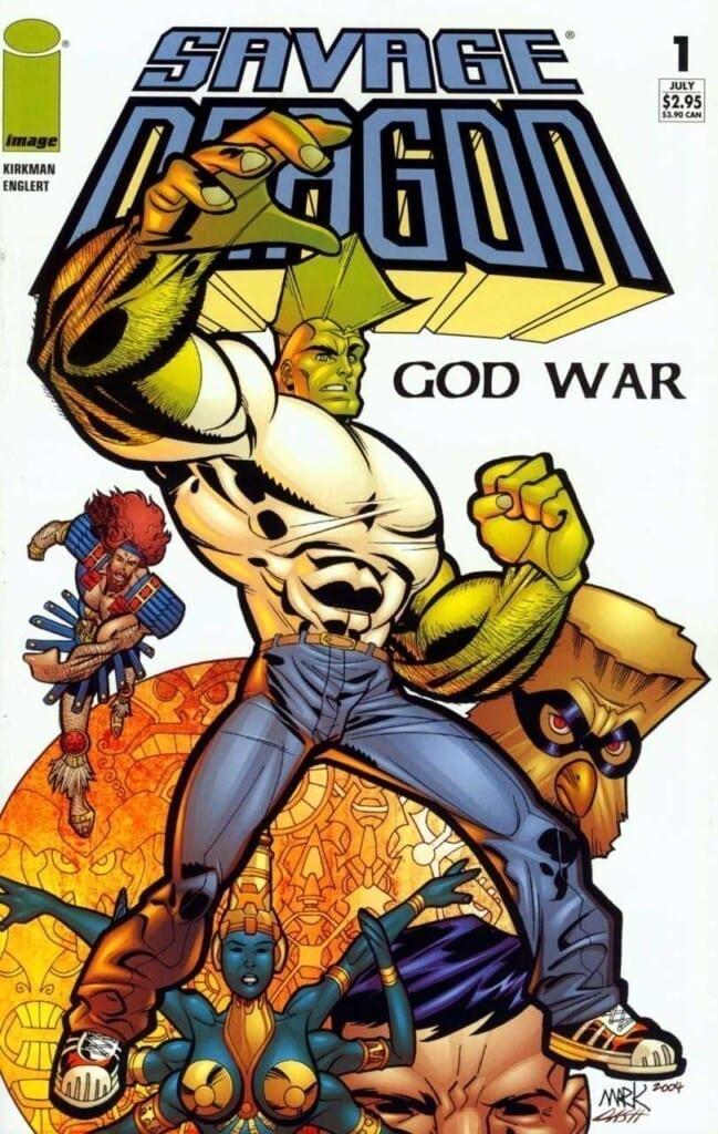 Comic completo Savage Dragon: God War