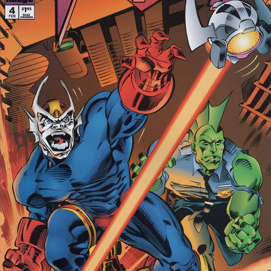 Comic completo Savage Dragon: Vanguard Volumen 1