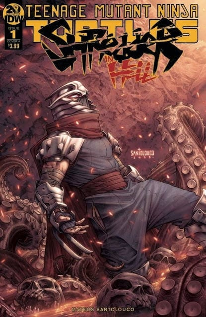 Comic completo Shredder in Hell