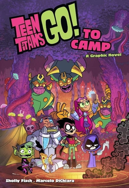 Comic completo Teen Titans Go! to Camp