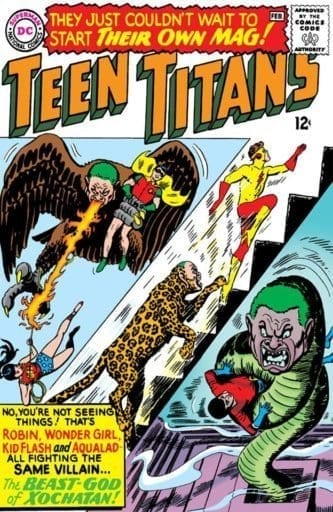 Comic completo Teen Titans Volumen 1