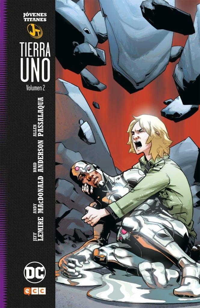 Comic completo Teen Titans: Tierra Uno Volumen 2