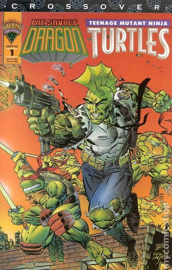 Comic completo The Savage Dragon / Teenage Mutant Ninja Turtles