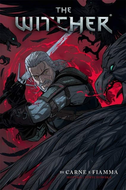 Comic completo The Witcher Carne Y Fuego