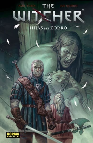 Comic completo The Witcher Hijas Del Zorro